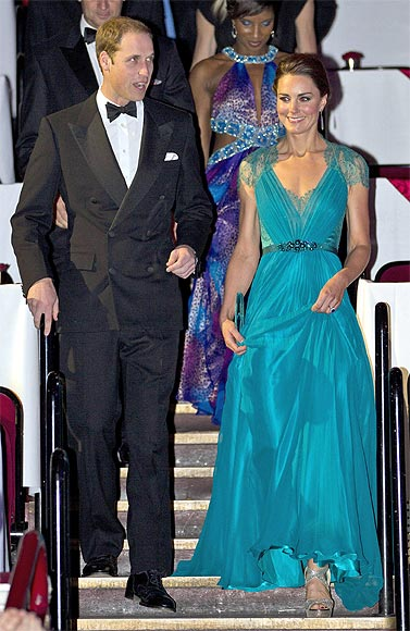Britain's Prince William and Catherine, Duchess of Cambridge, arrive for the 'Our Greatest Team Rises' event to celebrate TeamGB and ParalympicsGB at the Royal Albert Hall in central London
