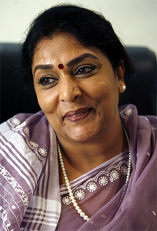 Renuka Chowdhury, a formidable personality