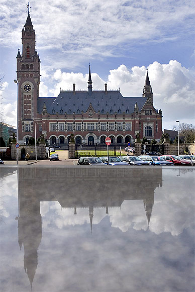 The International Court of Justice at the Hague