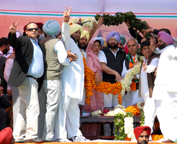 Captain Amarinder Singh is in the doldrums these days