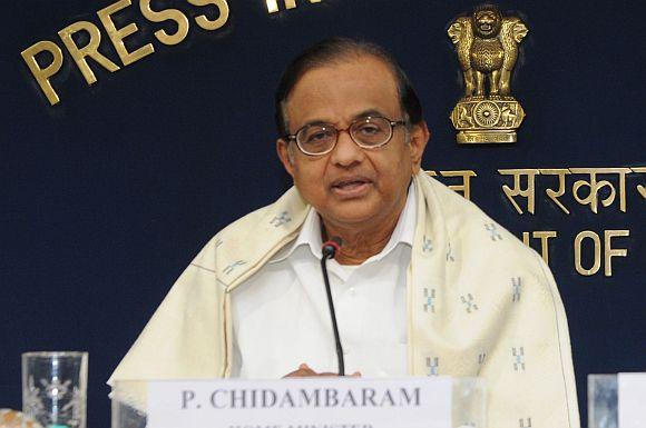 P Chidambaram.
