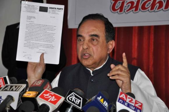 Janata Party President Dr Subramanian Swamy