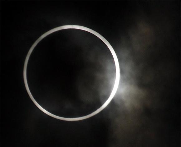 Rare 'Ring of Fire' wows skygazers
