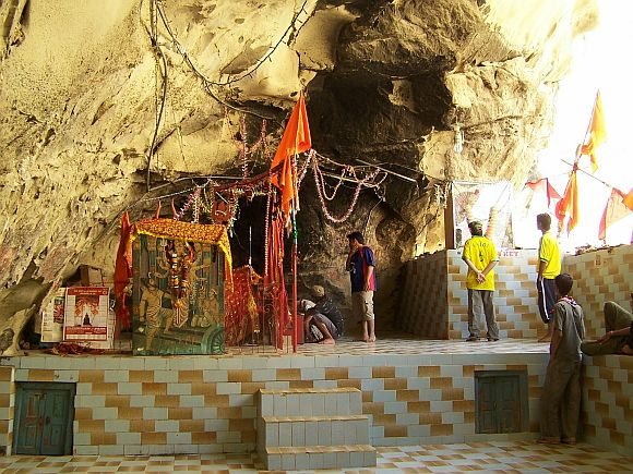 The Hinglaj Mata temple