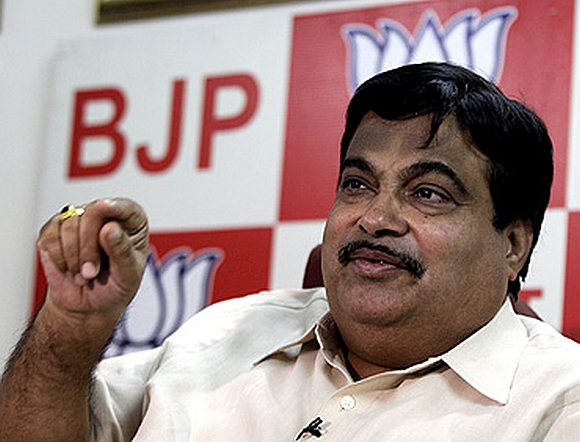 Bharatiya Janata Party chief Nitin Gadkari