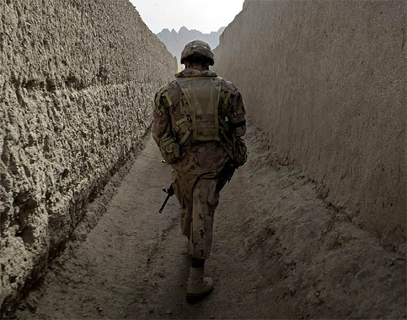 The view from Afghanistan's bunkers