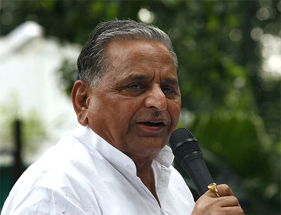 Mulayam Singh Yadav, the UPA's new best friend