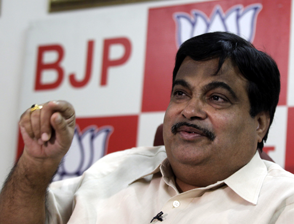 Nitin Gadkari, sitting tight till 2015