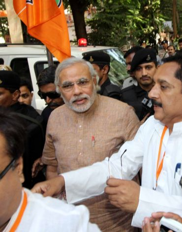 'Narendra Modi also forgets another baba'