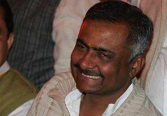 BJP leader Sanjay Joshi
