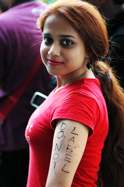 The bold and beautiful at Kolkata's SlutWalk