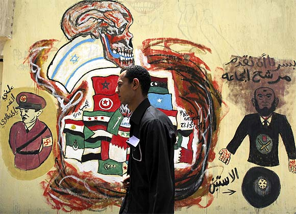 From battle to ballot: Egypt's graffiti revolution