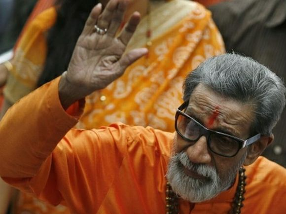 Shiv Sena supremo Bal Thackeray