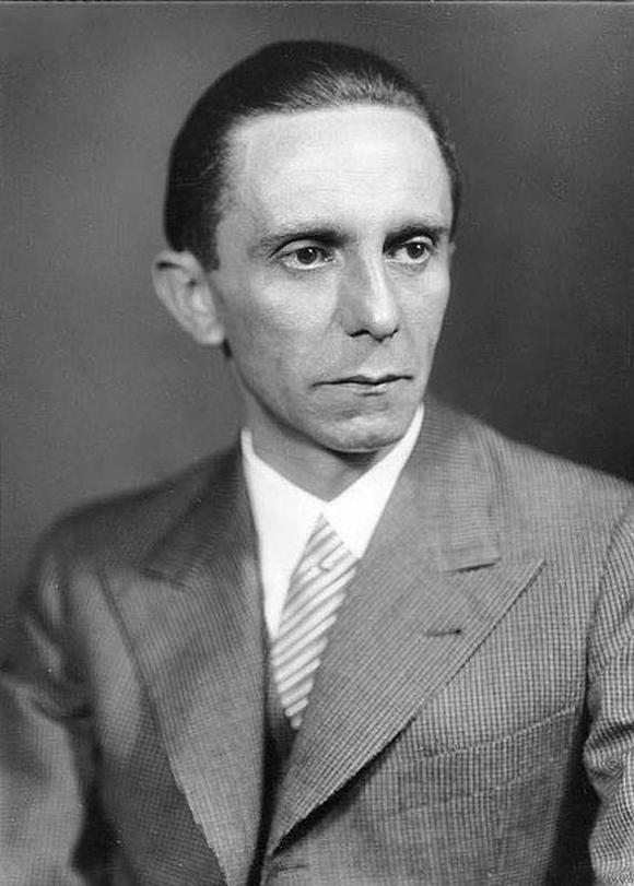 Hitler's propaganda minister Joseph Goebbels