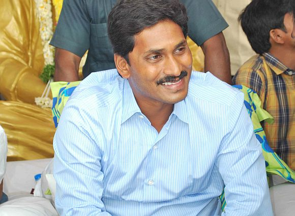 YSR Congress leader Jaganmohan Reddy