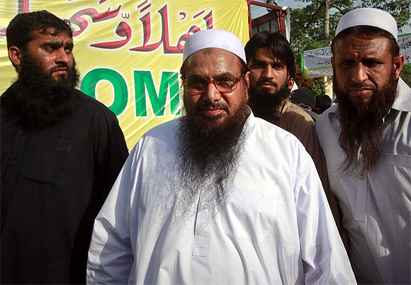 LeT founder Hafiz Saeed