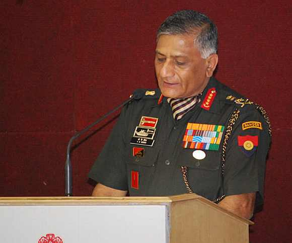 Gen V K Singh's tenure has been tainted by controversies