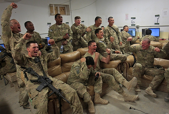 Between wars: How troops battle STRESS in Afghanistan