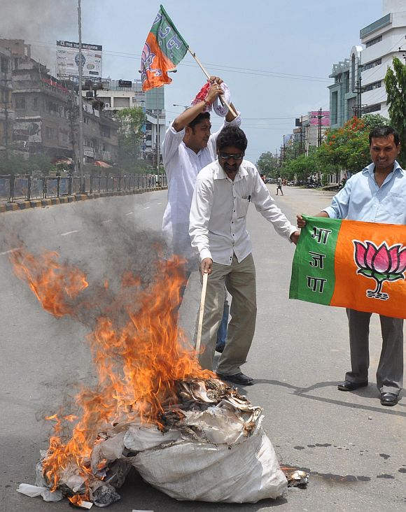 IN PHOTOGRAPHS: Bharat Bandh!