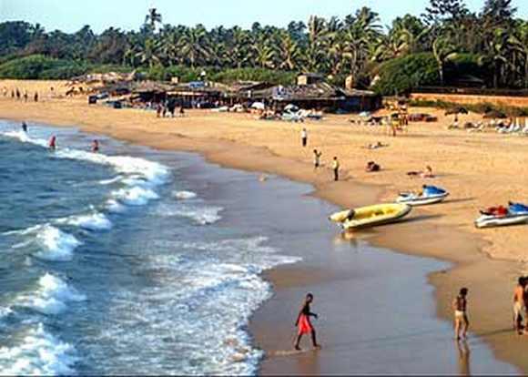 Goa's Candolim Beach