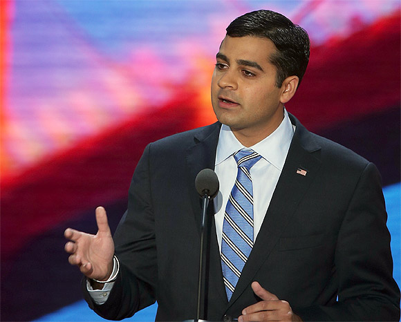 Republican Ricky Gill is contesting from California's Ninth Congressional District,