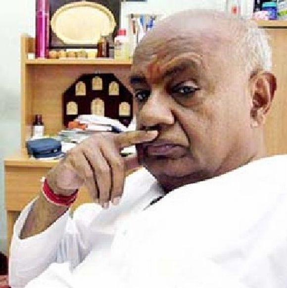 11. HD Deve Gowda