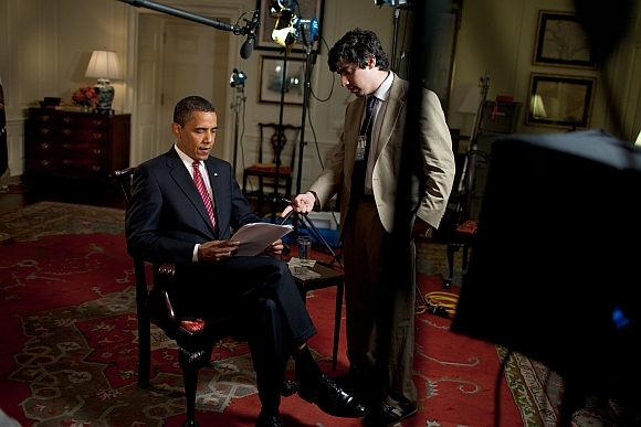 PHOTOS: When President Obama videographed me!