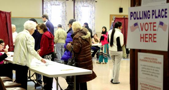 Turnout heavy in Sandy-ravaged New Jersey, Obama wins