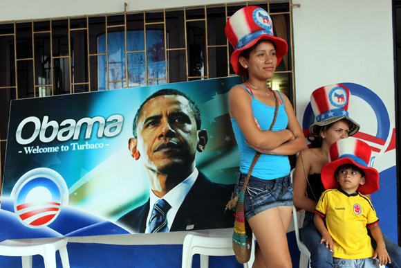 WORLD celebrates Barack Obama's triumph!