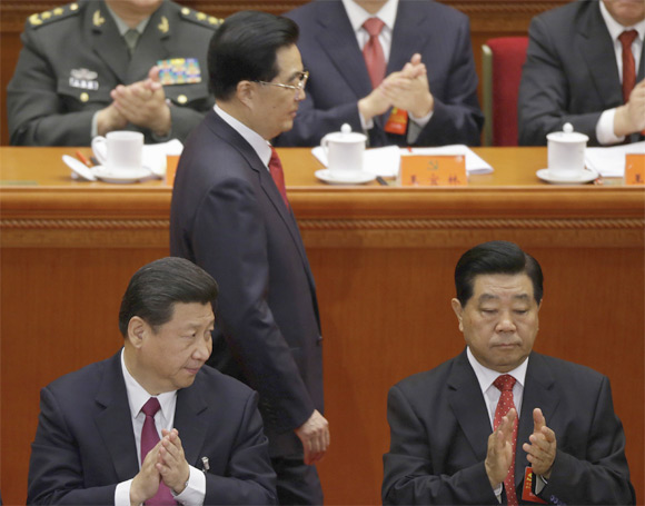 INSIDE China's Great Hall: Once-in-a-decade Congress opens