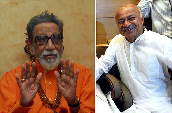 Shiv Sena supremo Bal Thackeray has slamed Home Minister Sushilkumar Shinde over security to Pak team