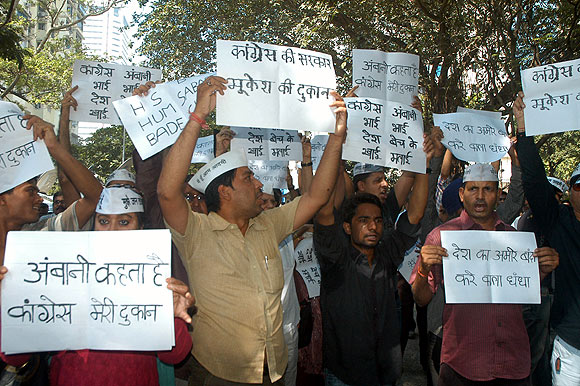 Hundreds of IAC members participated in the protest