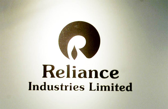 The logo of Reliance Industries