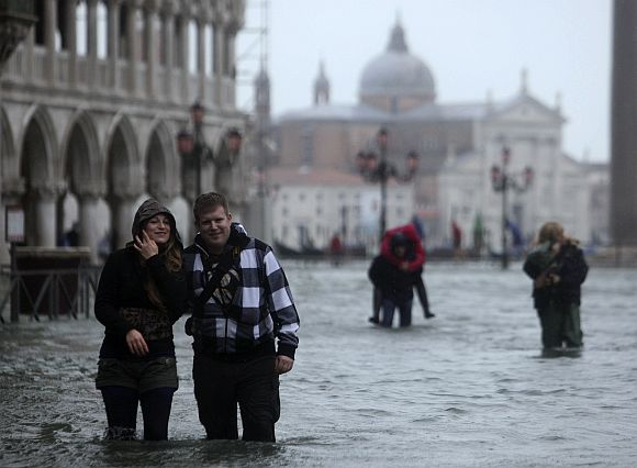 Venice sees worst floods in 22 years