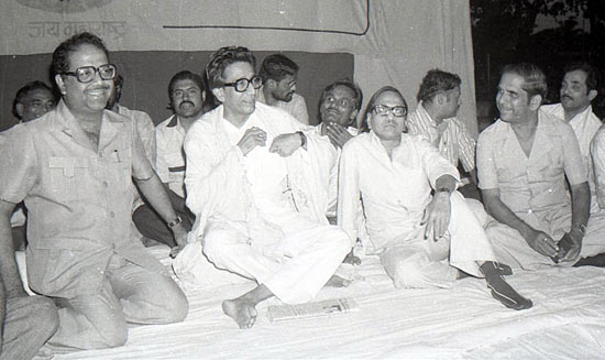 Thackeray at a public meeting