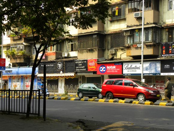 Shops largely remained closed as sparse traffic was noticed in Mumbai