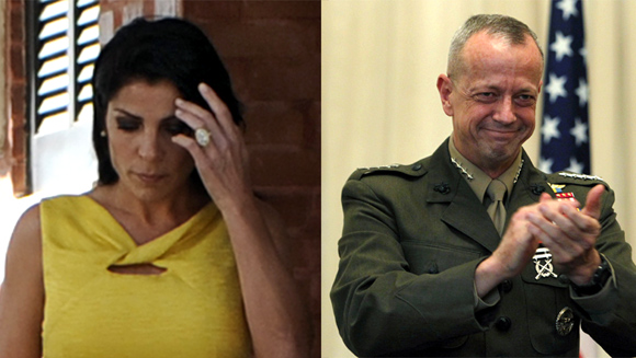 Jill Kelley and General John Allen
