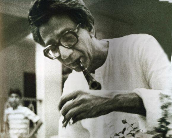 An archival photograph of Shiv Sena supremo Bal Thackeray