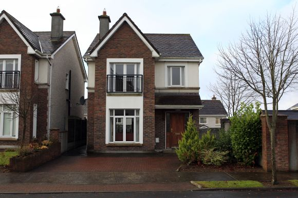 The family home of Praveen Halappanavar and his late wife Savita is seen in Galway, Ireland.