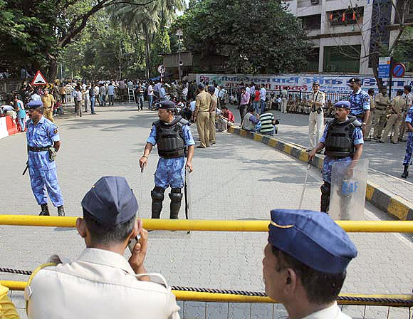 The area in and around Kalanagar has been cordoned off