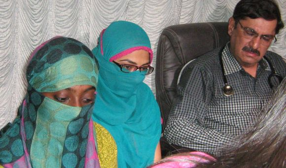 The two girls from Palghar, Maharashtra, who were arrested over their Facebook posts