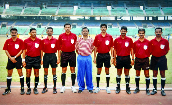 Sathosh Kumar at the Manchester United Premier Cup, Chennai 2007