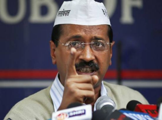 Kejriwal sets off with Swaraj in heart, Aam Aadmi in mind