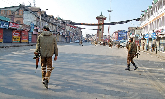 Security heightened in parts of Srinagar for Muharram