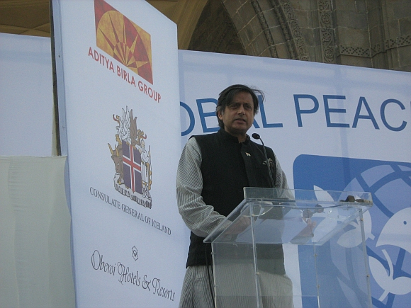Dr Shashi Tharoor at the event