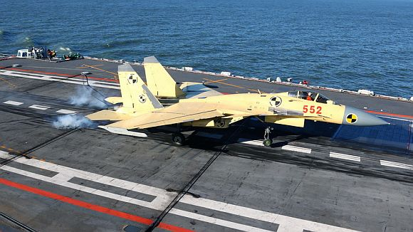 China ready to deploy jets on aircraft carrier
