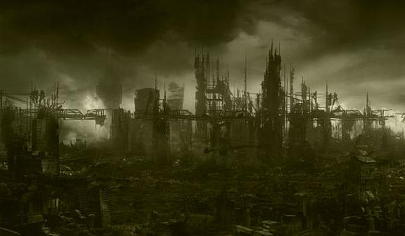 An artist's concept of apocalypse