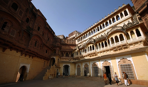 PICS: A tour of India's majestic palaces and forts