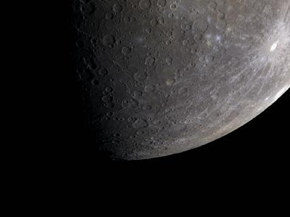 The icy beauty of Mercury