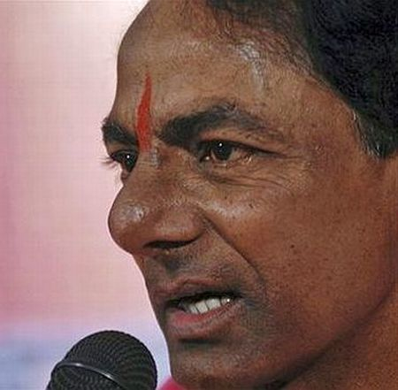 When Telangana erupted on Sunday, why was KCR in Delhi?